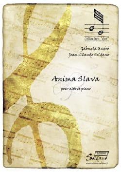 Quéré Gabriéla / Soldano Jean-Claude - Anima Slava - Sheet Music - di-arezzo.com