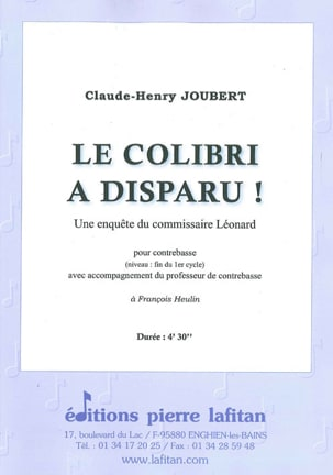 Claude-Henry Joubert - The hummingbird is gone! - Sheet Music - di-arezzo.com