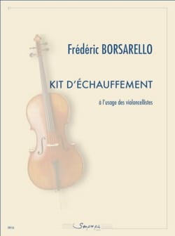 Frédéric Borsarello - Warm-up kit for cellists - Sheet Music - di-arezzo.co.uk