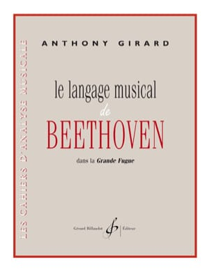 Le langage musical de Beethoven Anthony Girard Partition laflutedepan