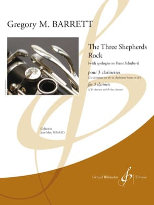 Gregory M. Barrett - The three sheperds Rock - Partition - di-arezzo.fr