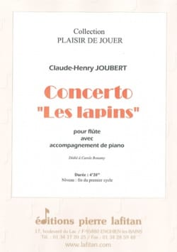 Claude-Henry Joubert - Concerto Rabbits - Flute and piano - Sheet Music - di-arezzo.com
