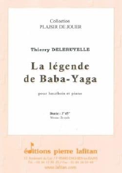 La légende de Baba-Yaga Thierry Deleruyelle Partition laflutedepan