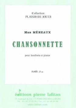 Chansonnette - Hautbois/Piano Max Méreaux Partition laflutedepan