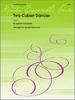 Ignacio Cervantes - Two Cuban Dances - Partition - di-arezzo.fr