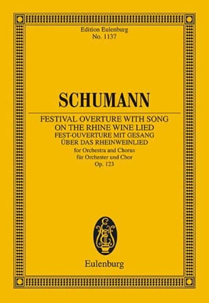 Festival Overture with Song on the Rhine Wine Lied, op. 123 - laflutedepan.com
