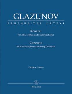 Concerto pour Saxophone et Orchestre, op. 109 - Conducteur laflutedepan