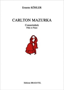 Carlton Mazurka Ernesto KÖHLER Partition laflutedepan