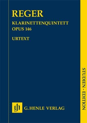 Quintette pour Clarinette et cordes, opus 146 Max Reger laflutedepan