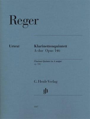 Quintette pour Clarinette et cordes, op. 146 - Parties laflutedepan