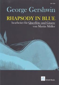 Rhapsody in blue - Flûte et Guitare GERSHWIN Partition laflutedepan
