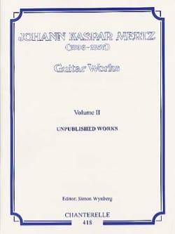 Bardenklänge volume 2 Johann Kaspar Mertz Partition laflutedepan