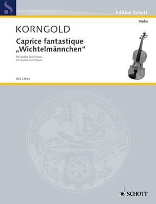 Caprice Fantastique - Erich Wolfgang Korngold - laflutedepan.com