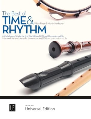 Traditionnel - The best of Time and Rhythm - 3 Recorders - Sheet Music - di-arezzo.co.uk