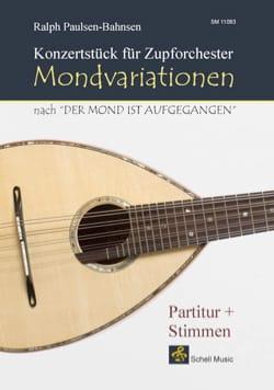 Ralph Paulsen-Bahnsen - Mondvariationen, Konzertstück - Partition - di-arezzo.fr