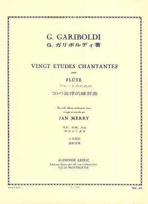 Giuseppe Gariboldi - 20 Singing studies op. 88 - Sheet Music - di-arezzo.co.uk