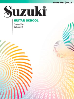 Suzuki - Suzuki Guitar School - Volume 2 - Partition - di-arezzo.fr