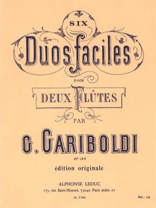 Giuseppe Gariboldi - 6 Duos Faciles, Op. 145 A - 2 Flutes - Partition - di-arezzo.fr