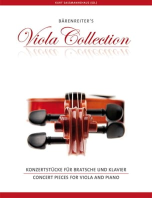 Concert Pieces for Viola and piano - Partition - laflutedepan.com