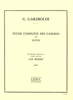 Giuseppe Gariboldi - Complete study of the ranges - Sheet Music - di-arezzo.com