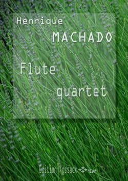 Flute Quartet Henrique Machado Partition laflutedepan