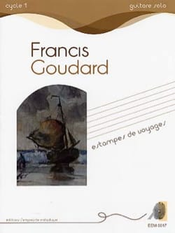 Francis Goudard - Travel stamps - Sheet Music - di-arezzo.co.uk