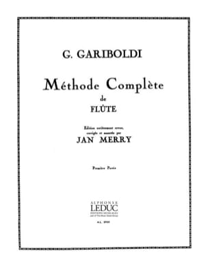 Giuseppe Gariboldi - Méthode de Flûte - Volume 1 - Partition - di-arezzo.fr