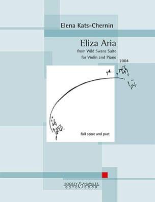 Elena Kats-Chernin - Eliza Aria - Violon et piano - Partition - di-arezzo.fr