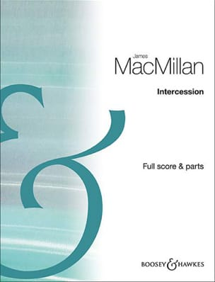 James MacMillan - Intercession - 3 Oboes - Sheet Music - di-arezzo.co.uk