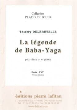 Thierry Deleruyelle - The legend of Baba-Yaga - Sheet Music - di-arezzo.co.uk
