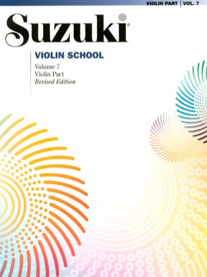Suzuki Violin School Violon Part REVISED Volume 7 SUZUKI laflutedepan