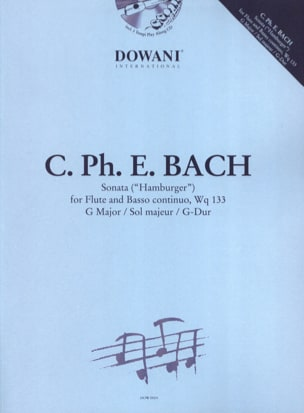 Carl Philipp Emanuel Bach - Hamburger Sonate, Wq 133 - Flute and piano - Sheet Music - di-arezzo.co.uk
