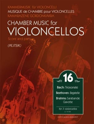 - Chamber Music for Violoncellos Vol. 16 - Sheet Music - di-arezzo.com