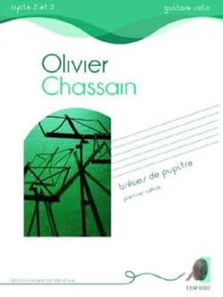 Brèves de pupitre - Cahier 1 - Olivier Chassain - laflutedepan.com