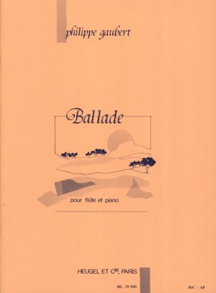 Philippe Gaubert - Ballad - Sheet Music - di-arezzo.co.uk