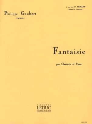 Philippe Gaubert - Fancy - Sheet Music - di-arezzo.co.uk