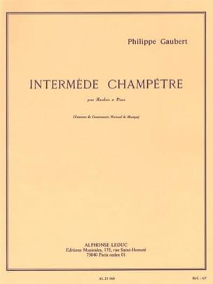 Philippe Gaubert - Country interlude - Sheet Music - di-arezzo.co.uk