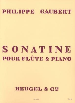 Sonatine Philippe Gaubert Partition Flûte traversière - laflutedepan