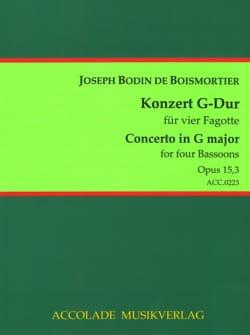 BOISMORTIER - Concerto No. 3 op. 15 G Major - Sheet Music - di-arezzo.com