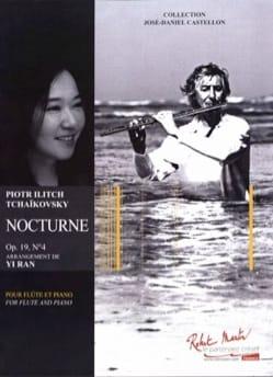 TCHAIKOVSKY - Nocturne, Opus 19 No. 4 - Flauta y piano - Partitura - di-arezzo.es