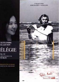 Elégie, opus 44 - Flûte et piano - laflutedepan.com