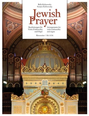 - Jewish Prayer - Alto ou Violoncelle et Orgue - Partition - di-arezzo.fr