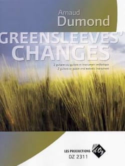 Greensleeves' Changes - Arnaud Dumond - Partition - laflutedepan.com