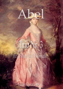 Carl Friedrich Abel - Trio in C Major, op. 16 n ° 3 - Sheet Music - di-arezzo.co.uk