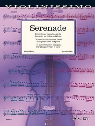 Serenade - Violin and piano - Sheet Music - di-arezzo.co.uk
