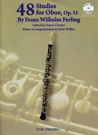 Franz Wilhelm Ferling - 48 Studies for Oboe - Partition - di-arezzo.fr