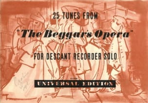 - 25 Tunes from The Beggar's Opera - Sheet Music - di-arezzo.com