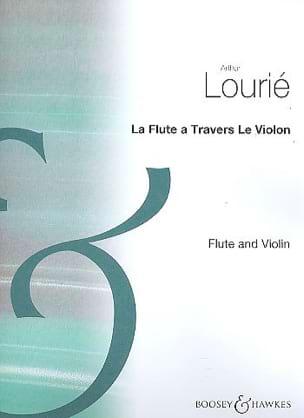 Arthur Lourié - La Flute à travers le Violon - Partition - di-arezzo.fr