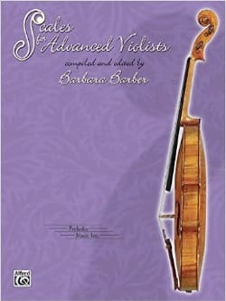 Barbara Barber - Scales for advanced Violists - Partition - di-arezzo.fr