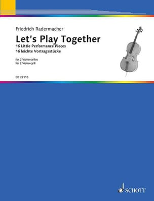 Friedrich Radermacher - Let's play Together - 2 cellos - Sheet Music - di-arezzo.com